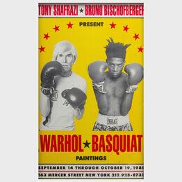 Andy Warhol, Warhol-Basquiat Poster