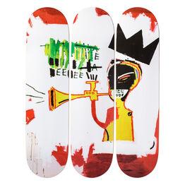 Jean-Michel Basquiat, Trumpet
