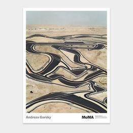 Andreas Gursky, Bahrain poster