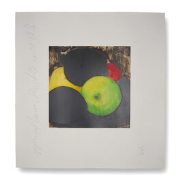Donald Sultan, Apples and Lemons