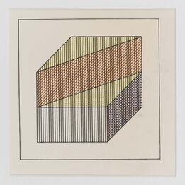 Sol LeWitt, Twelve forms derived from a cube