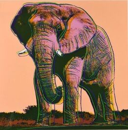 Andy Warhol, ENDANGERED SPECIES: AFRICAN ELEPHANT FS 11.293
