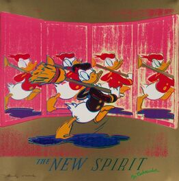 Andy Warhol, Ads-The New Spirit (Donald Duck)