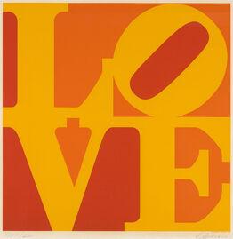 Robert Indiana, Golden Love (Sheehan 77)