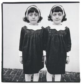 Diane Arbus, Identical twins, Roselle, N.J.
