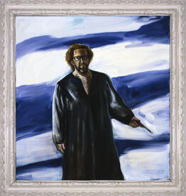 Julian Schnabel, Untitled (Self-Portrait)