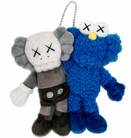 KAWS, KAWS Seeing/Watching keychain (KAWS plush)