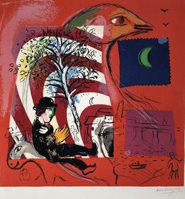 Marc Chagall, l'Arc en Ciel (The Rainbow)