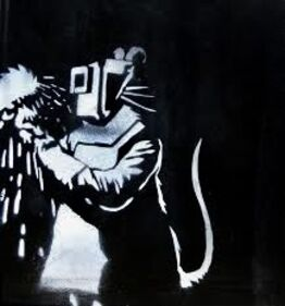 Banksy, Welder rat