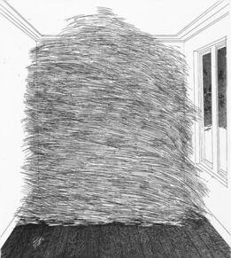 David Hockney, A Room Full of Straw