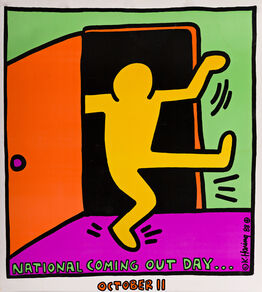 Keith Haring, National Coming Out Day