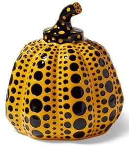 Yayoi Kusama, Pumpkin (Yellow & Black)
