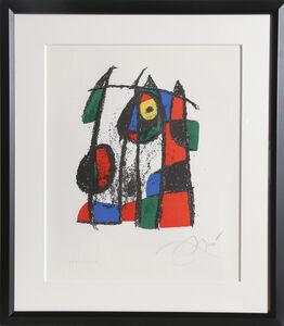 Joan Miró, Lithograph II (M. 1043)