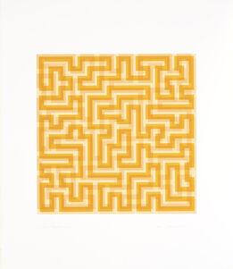 Anni Albers, Orange Meander