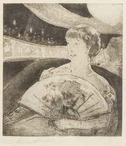 Mary Cassatt, In the Opera Box (No. 3)