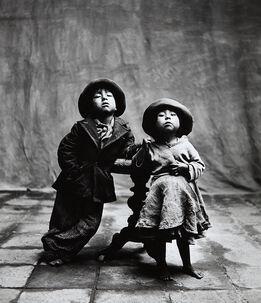 Irving Penn, Cuzco Children, Peru, December