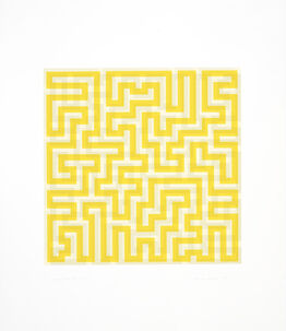 Anni Albers, Yellow Meander