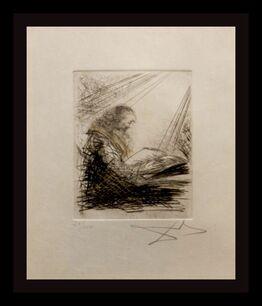 Salvador Dalí, Faust Vignettes Faust Lisant