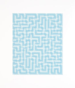 Anni Albers, Blue Meander