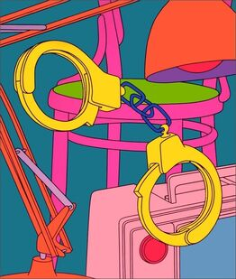 Michael Craig-Martin, Intimate Relations: Handcuffs