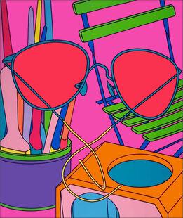 Michael Craig-Martin, Intimate Relations: Sunglasses