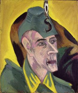 Ernst Ludwig Kirchner, Portrait Hugo