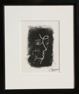 Georges Braque, Profil de Femme from Souvenirs de Portraits d'Artistes