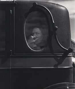 Dorothea Lange, Funeral Cortege, End of an Era in a Small Valley Town, California