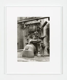 Bernd and Hilla Becher, Detail Blast Furnace, Diffedange