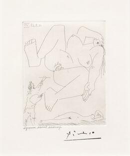 Pablo Picasso, La Demesure du Peintre, from the 347 Series