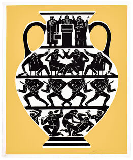 Cleon Peterson, TRUMP 2017 (Gold & Black)