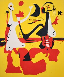 Joan Miró, Pochoir