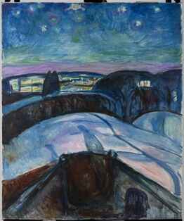 Edvard Munch, Starry Night II