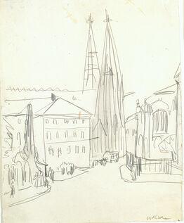 Ernst Ludwig Kirchner, Sophienkirche Dresden
