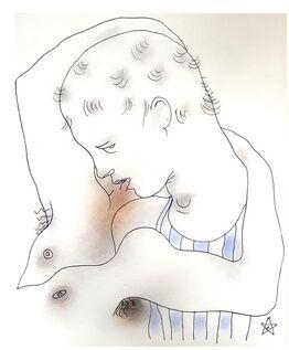 "Jean Cocteau, Original Lithograph ""White Book VII"" by Jean Cocteau"