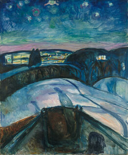 Edvard Munch, Starry Night