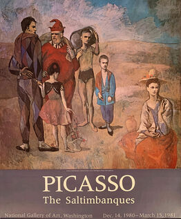 Pablo Picasso, PIcasso, The Saltimbanques, National Gallery of Art, Washington, Dec 14, 1980 - March 15, 1981, HOLIDAY SALE $200 OFF THRU MAKE OFFER