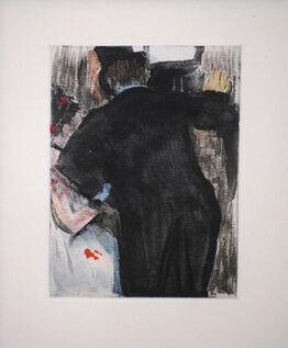 Edgar Degas, The Admirer