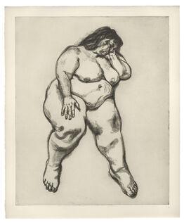 Lucian Freud, Woman Sleeping