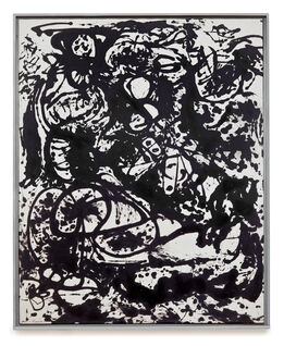 Jackson Pollock, Black and White (Number 6)