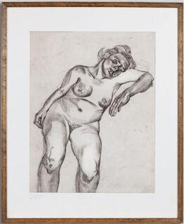 Lucian Freud, Blond Girl