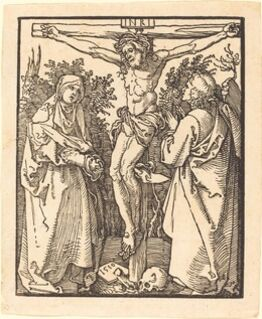 Albrecht Dürer, Christ on the Cross with Mary and Saint John