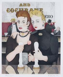 Richard Hamilton, Bronze by Gold