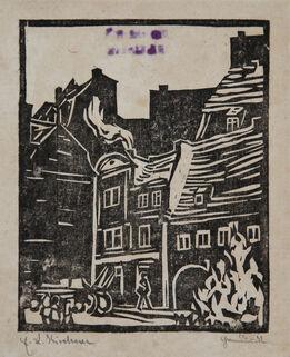 Ernst Ludwig Kirchner, Strassenbild Dresden