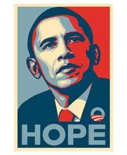 Shepard Fairey, Obama Hope Paster