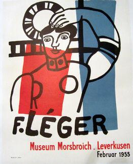 Fernand Léger, F. Leger, Museum Morsbroich, Leverkusen, Februar 1955