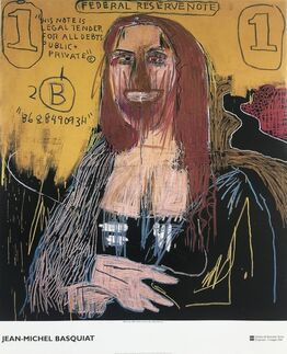 Jean-Michel Basquiat,  Mona Lisa