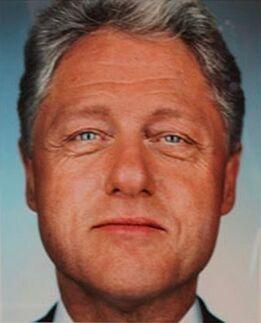 Martin Schoeller, Bill Clinton