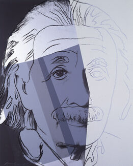"Andy Warhol, Albert Einstein from ""Ten Portraits of Jews of the Twentieth Century"" portfolio"