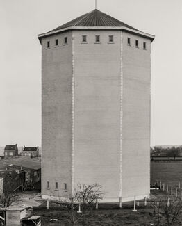 Bernd and Hilla Becher, Water Tower [Wasserturm], Herve/Liège, B